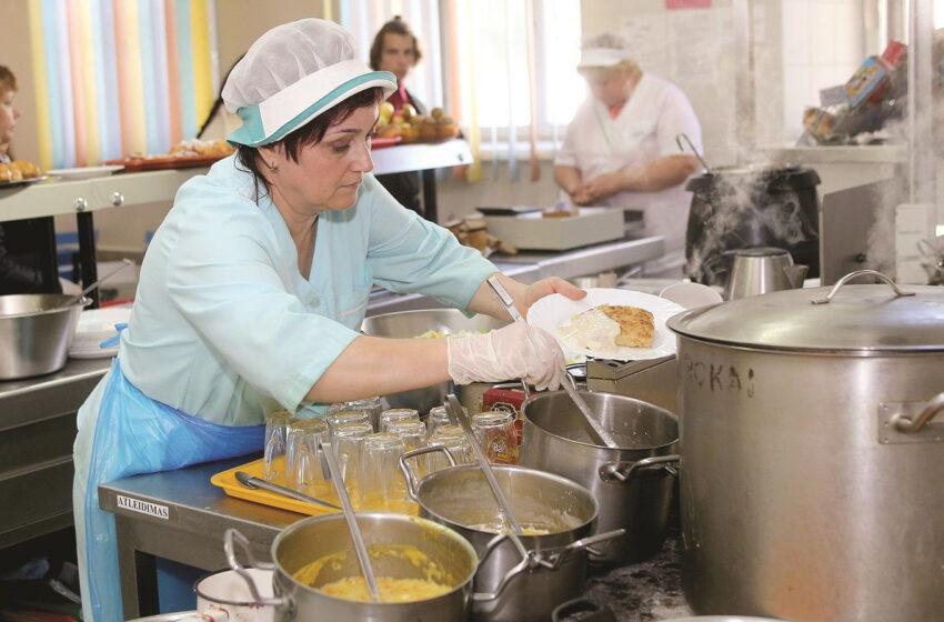 Į mokyklų valgyklas atkeliauja inovacijos