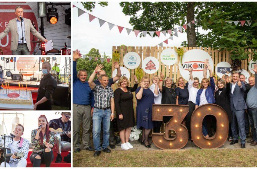 """""""Vikonda"""" įmonių grupei – 30! Šventė – piknike po atviru dangumi (FOTOGALERIJA)"""