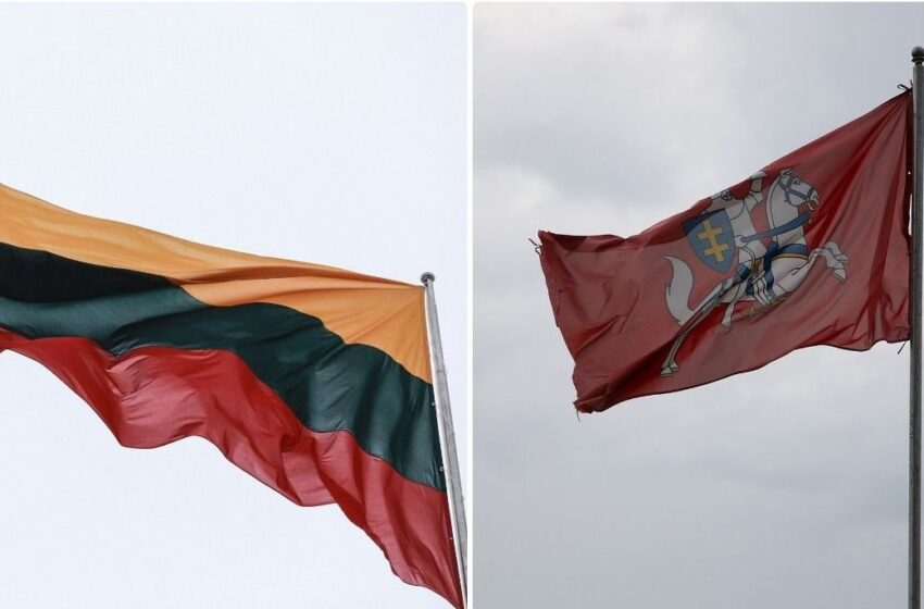 Ar žinote, kuo skiriasi Lietuvos valstybinė ir istorinė vėliavos?