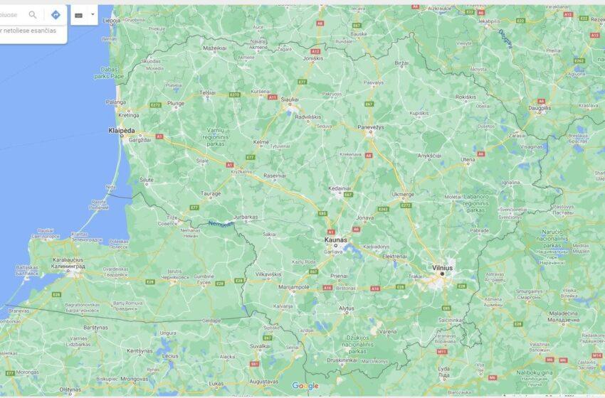 """""""Google Maps"""": 5 patarimai, padėsiantys žemėlapiais naudotis patogiau"""