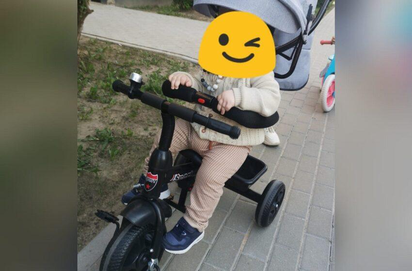 Vagys be sąžinės: pavogė vaiko triratuką