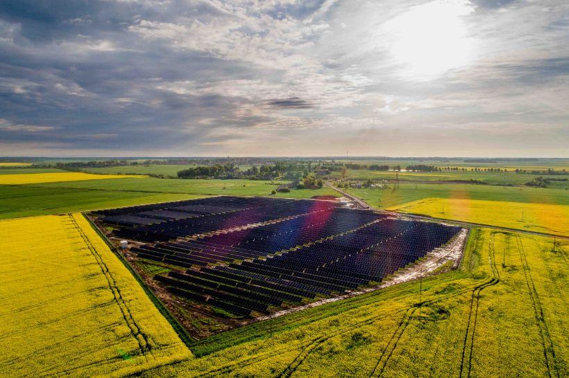 """Nutolusių saulės parkų elektra keliauja ir į """"Kėdainių vandenis"""""""