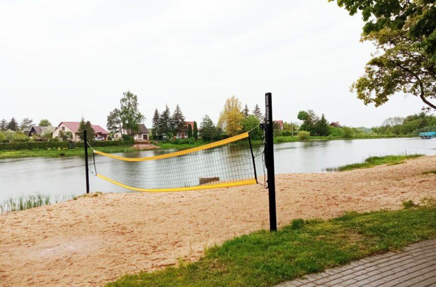 Pelėdnagių paplūdimys ir poilsio zona ruošiami vasaros sezonui