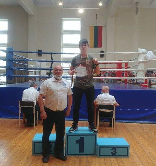 Kėdainių jaunųjų boksininkų komanda iškovojo tris medalius