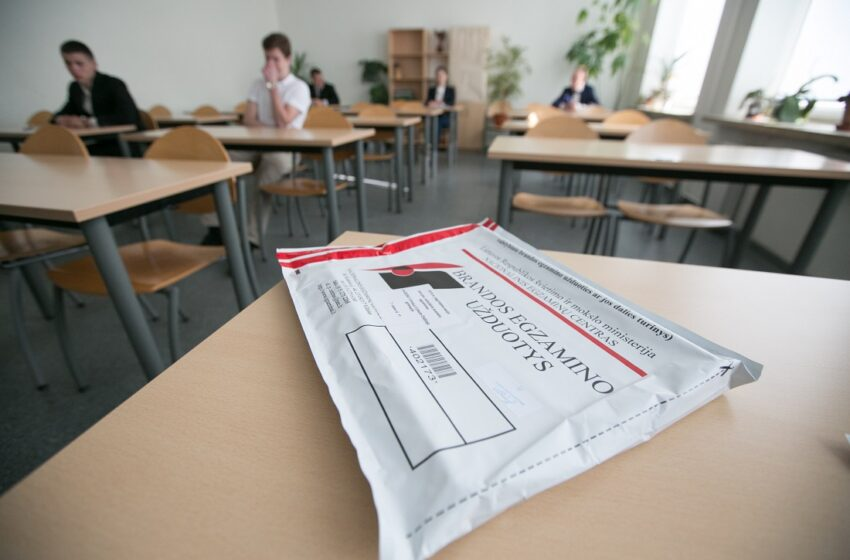 Prasideda brandos egzaminų sesija