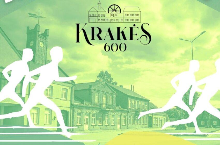 Kviečia bėgti už Krakes