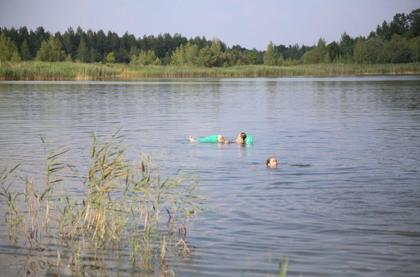 Rajono maudyklų vanduo švarus