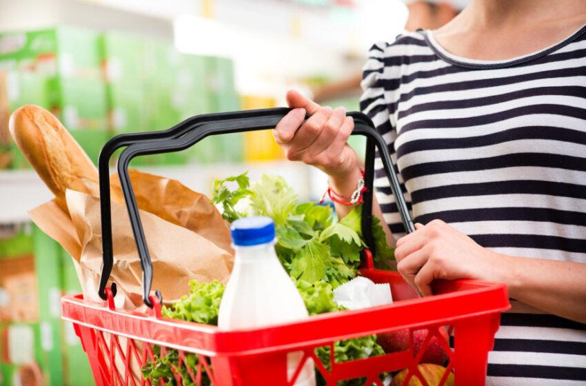 Pigiausių maisto produktų krepšelis birželį pigo