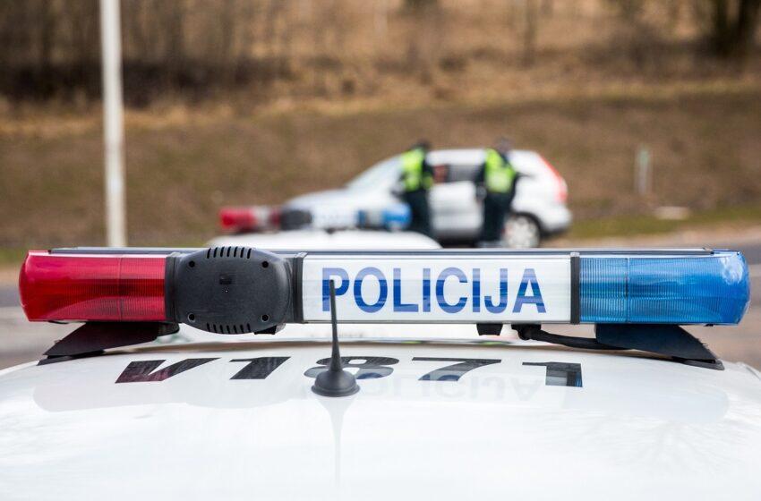Kėdainių rajone vairuotojai nustatytas 4,14 promilės girtumas