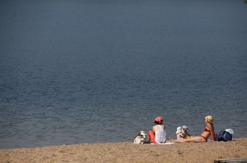 Miegėnų ir Angirių paplūdimių smėlis užterštas