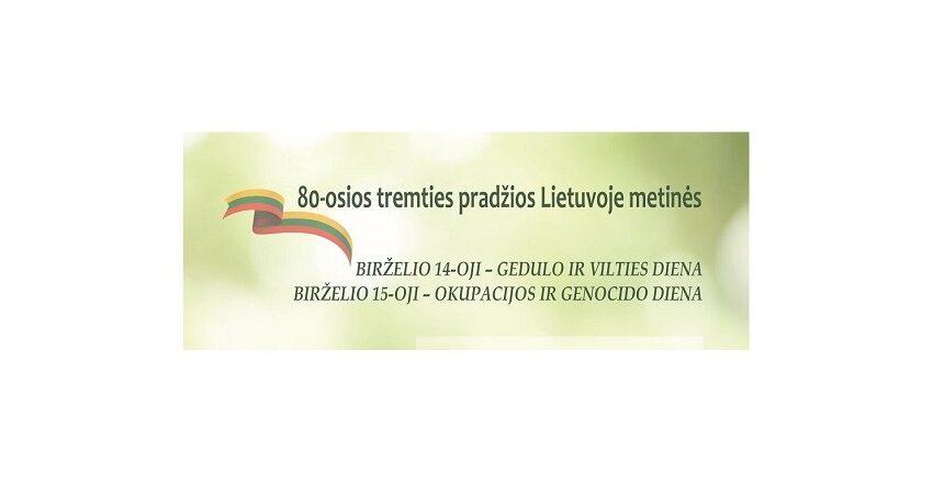 Minime 80-ąsias tremties pradžios metines Lietuvoje