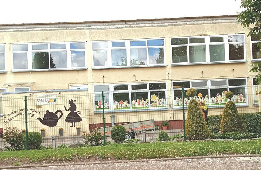 Vaikų darželį tvarko kapitaliai