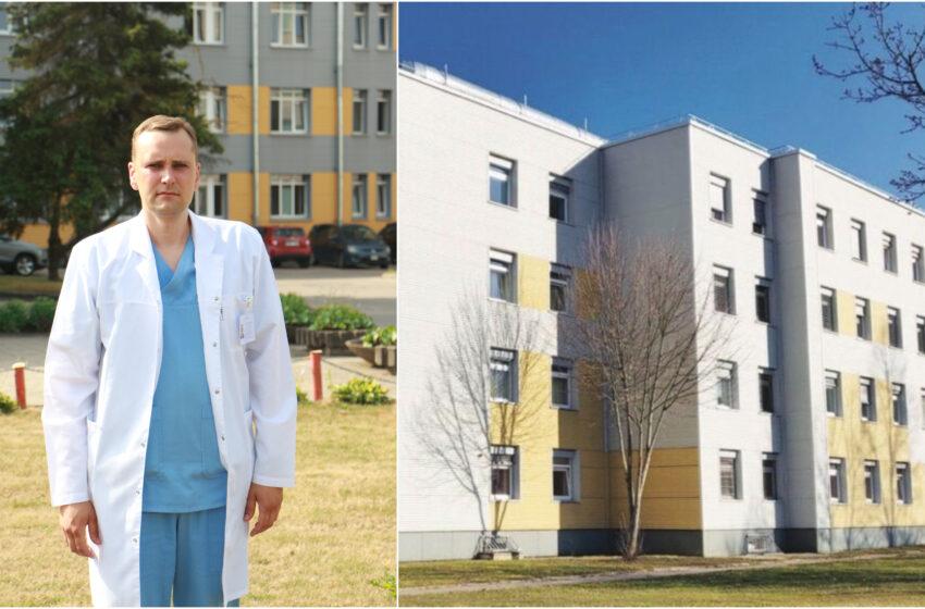 Kėdainių ligoninėje – naujas traumatologas