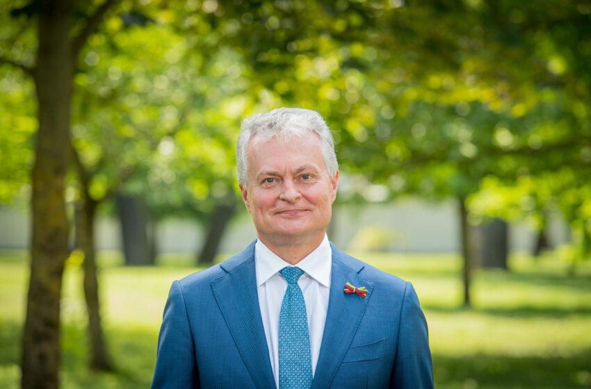 Lietuvos Respublikos Prezidento Gitano Nausėdos sveikinimas Valstybės (Lietuvos Karaliaus Mindaugo karūnavimo) ir Tautiškos giesmės dienos proga
