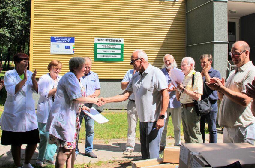 """Kėdainių """"Rotary"""" klubas skyrė dovanų"""