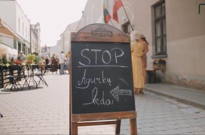 Agurkais kvepianti fiesta – jau Kėdainiuose! (VIDEO)