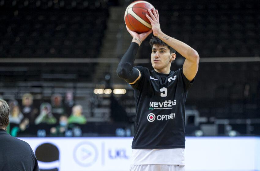 Panagiotis Kalaitzakis palieka Kėdainių ekipą