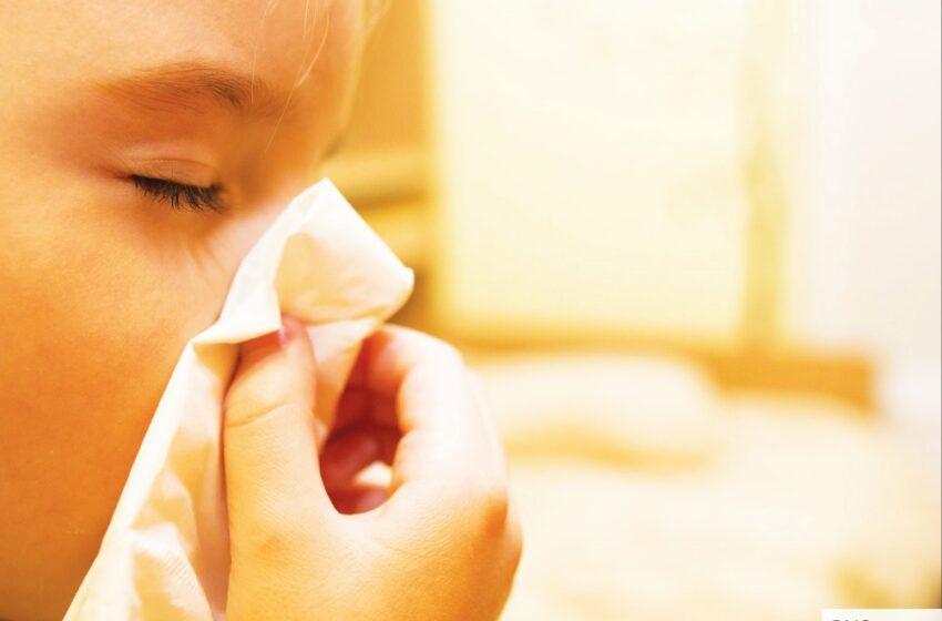 Daugėja alergiškų žmonių