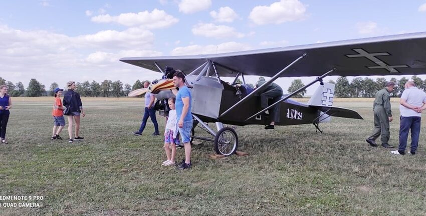 Susipažino su vaikų aviacijos subtilybėmis