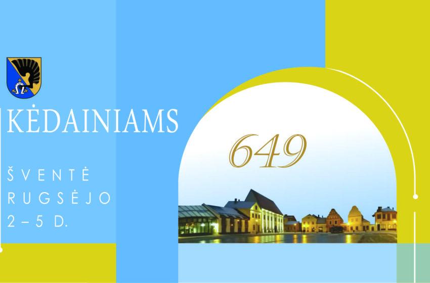 Kėdainių miesto šventės 2021 programa