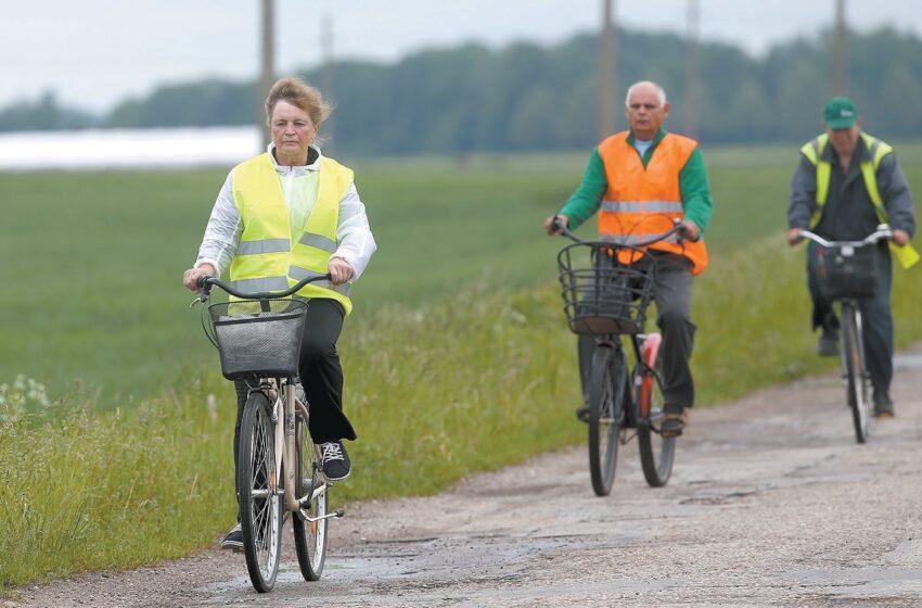 Naujam dviračių takui gali reikėti milijono