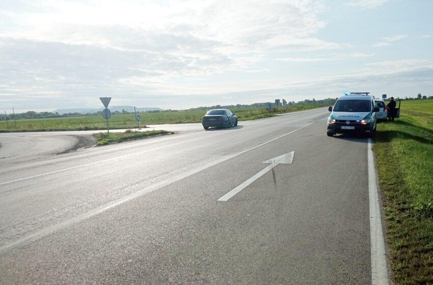 Kelyje Jonava–Kėdainiai–Šeduva susidūrė du automobiliai