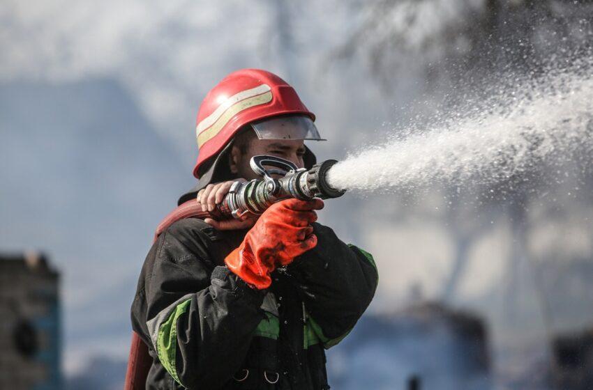 Kėdainių rajone sudegė 53 šieno ritiniai