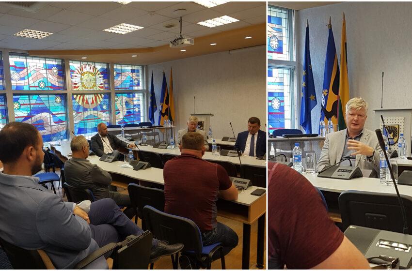 Kėdainiuose lankosi Žemės ūkio ministras Kęstutis Navickas