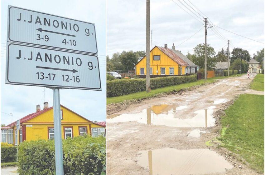 Janonio gatvės gyventojų kantrybė – ne geležinė