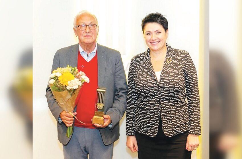 Įvertintas Vygando Valiukevičiaus indėlis Lietuvos sportui