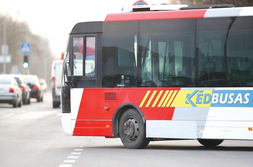 Miesto šventės metu papildomai važiuos autobusai