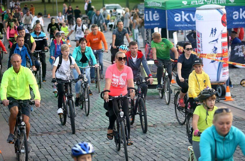 Jau šį ketvirtadienį Kėdainių miesto gatves užplūs dviratininkai
