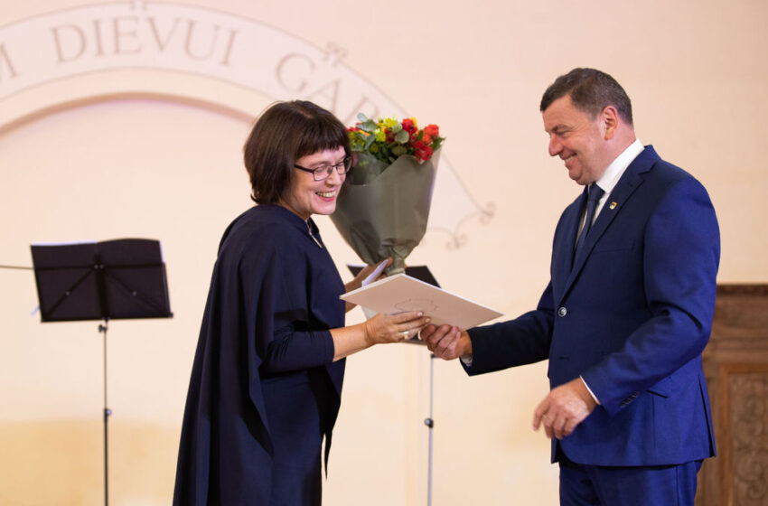 Miłoszo premijos laureatė G. Kadžiulytė: pažadu nesustoti (VIDEO, FOTOGALERIJA)
