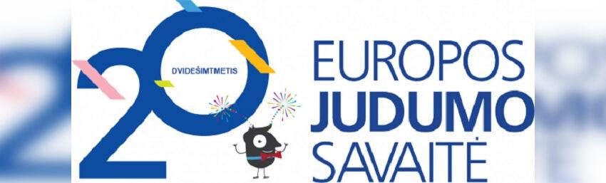 Kviečia aktyviai paminėti Europos judumo savaitę