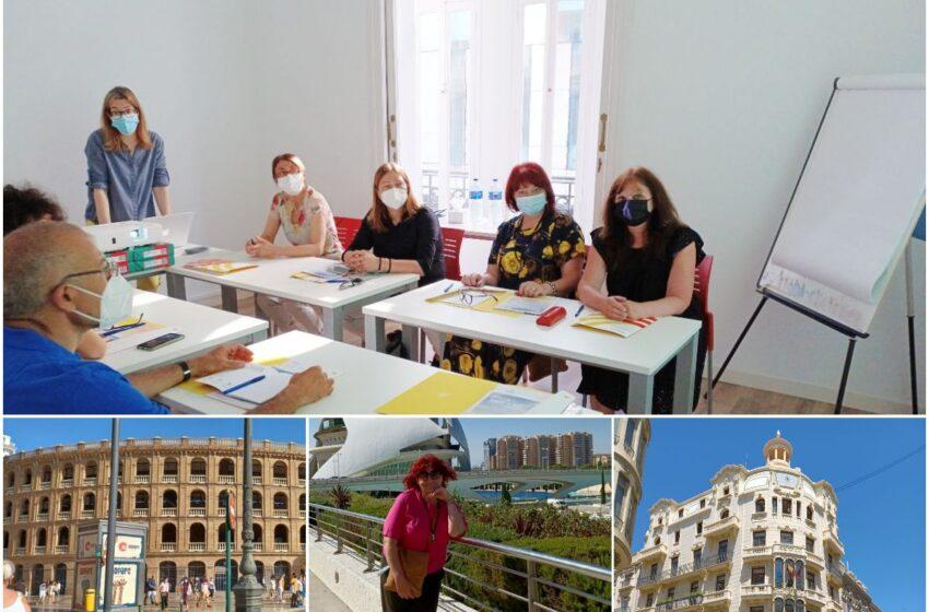 """""""Purienos"""" pedagogės – aktyvios tarptautinių projektų dalyvės"""