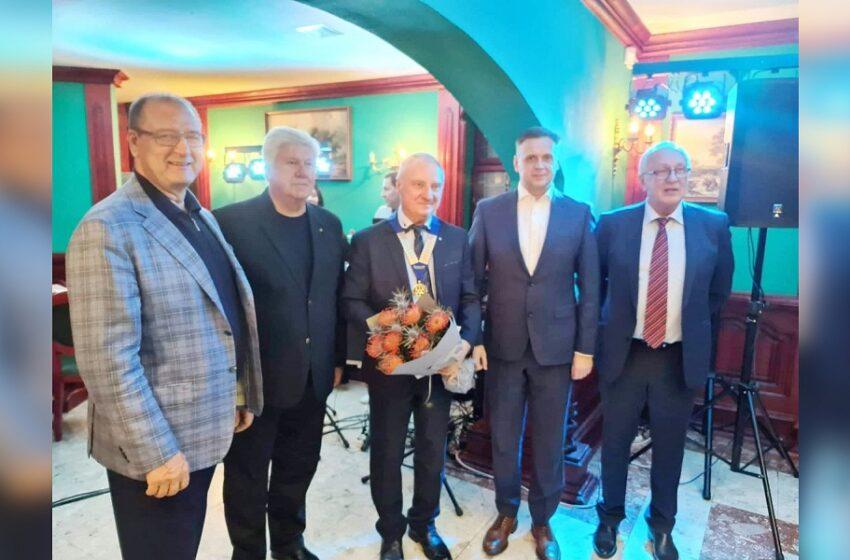 Išrinktas naujas Kėdainių Rotary klubo prezidentas