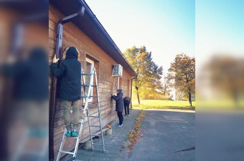 Nociūniškiai atnaujino bendruomenės namus