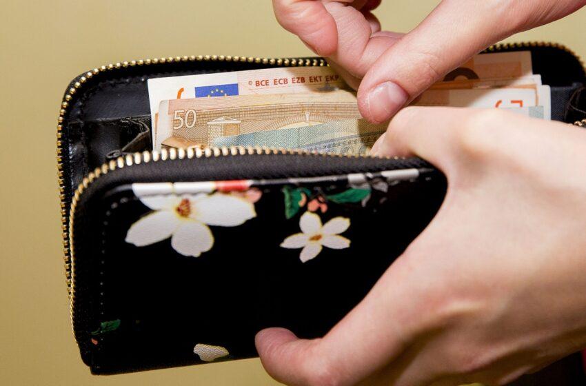 Iš namo pavogta piniginė su pinigais
