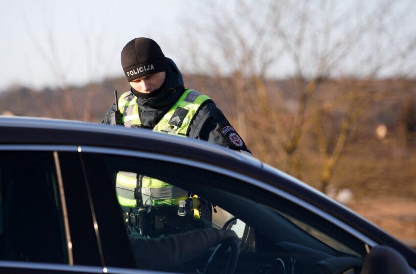 Automobilyje rastos galimai narkotinės medžiagos