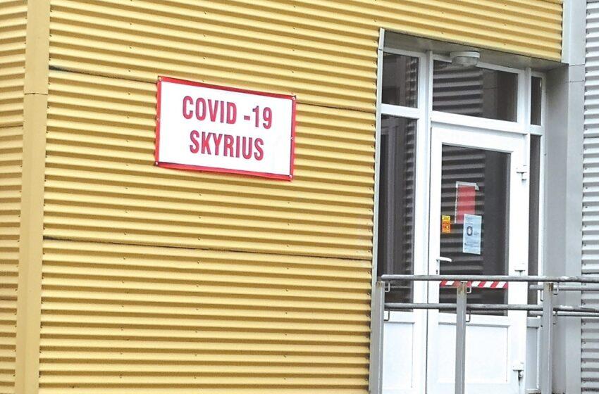 Vakar diena COVID-19 skyriuje buvo sunki